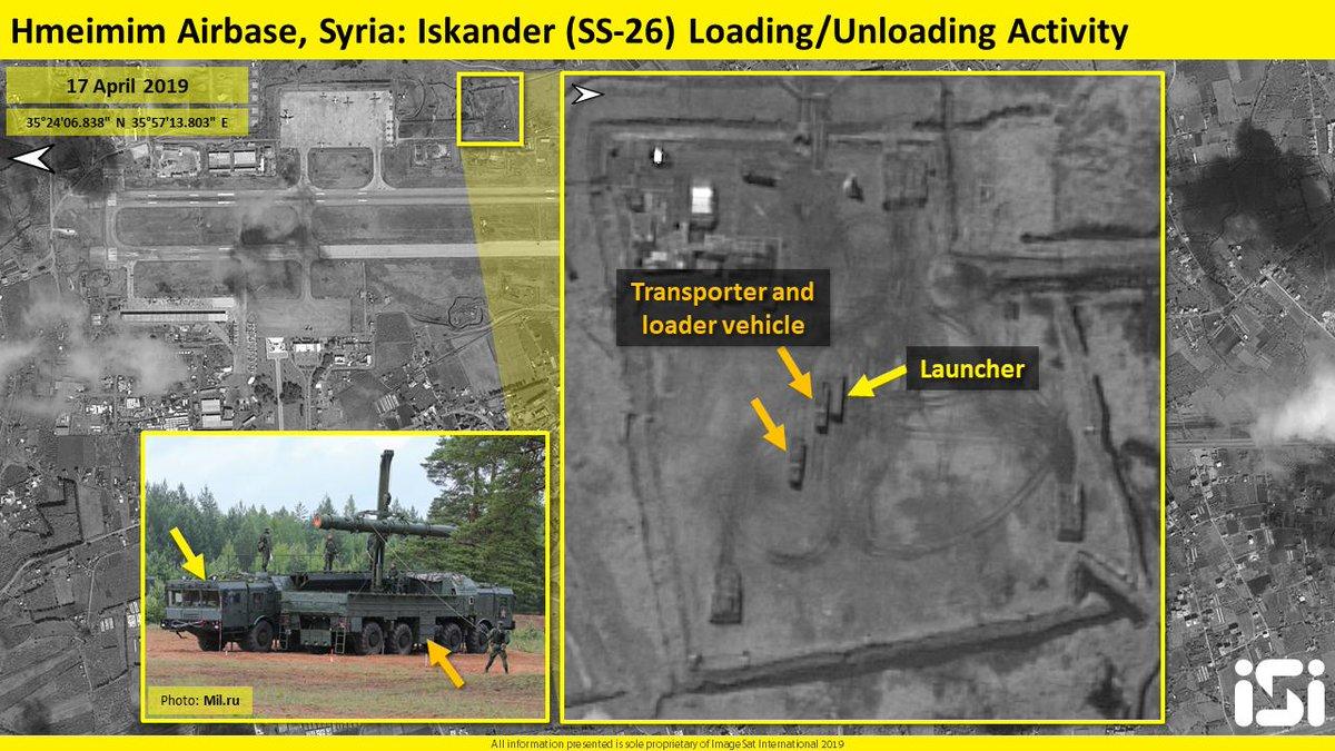"""""""Искандеры"""" в Сирии"""