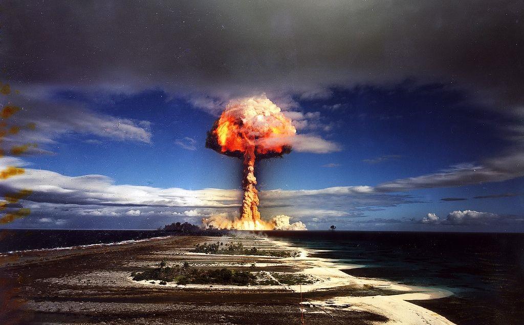 Испытания атомной бомбы
