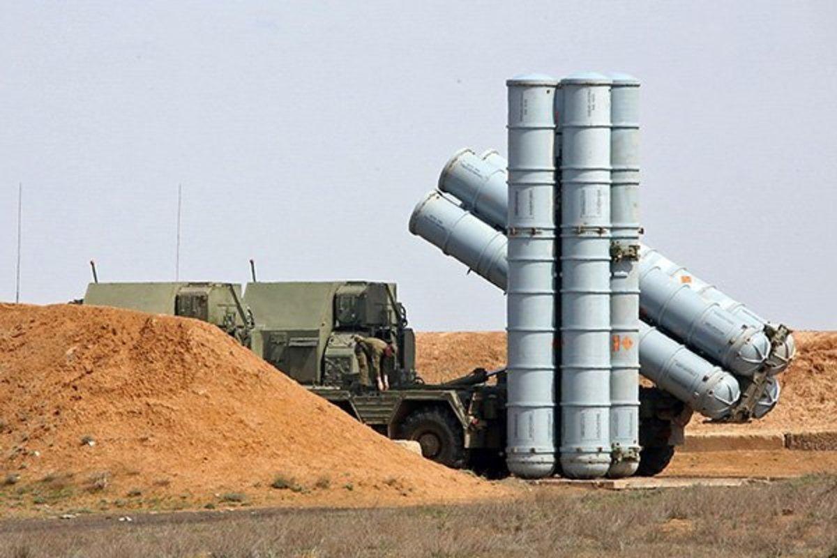 Комплексы С-300 в Сирии