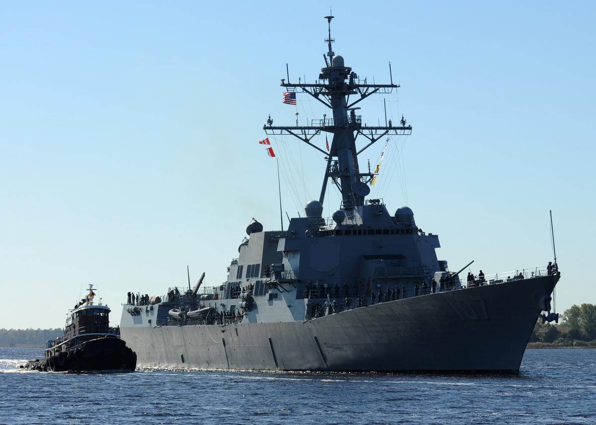 Корабли НАТО в балтийской акватории