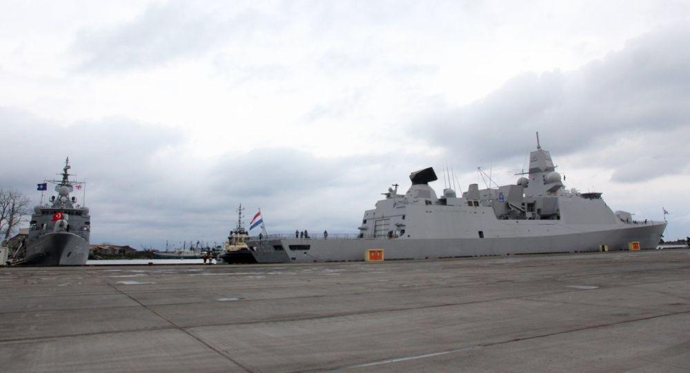 Корабли НАТО в Грузии