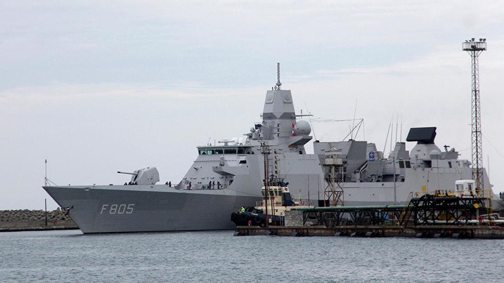 Корабли НАТО в Поти