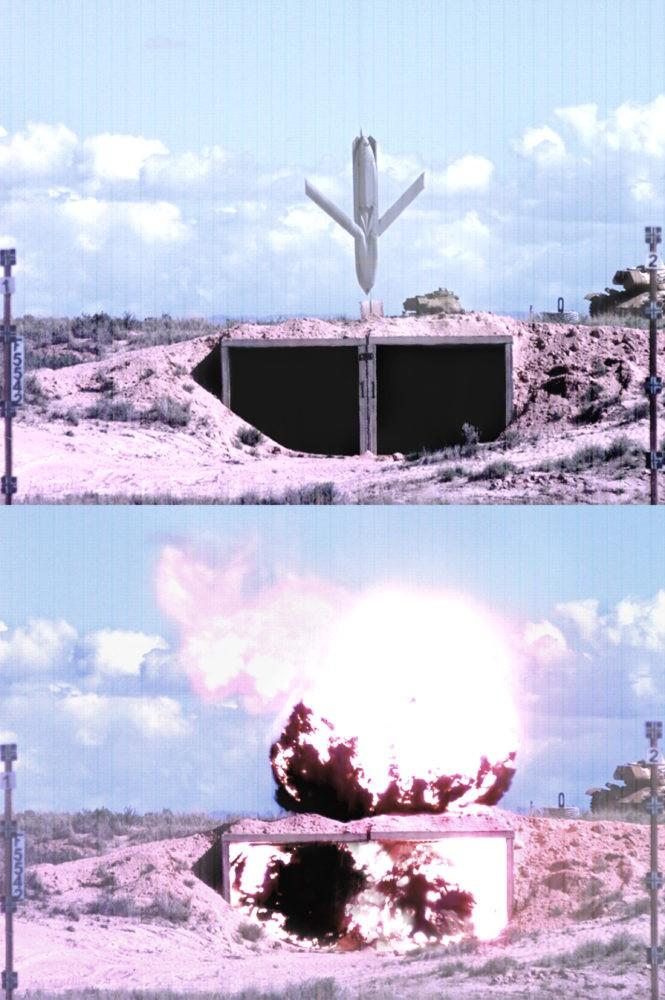 КР AGM-158 JASSM в действии