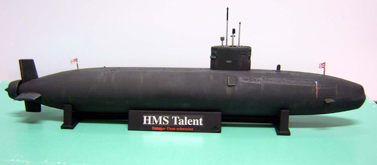 Макет HMS Talent
