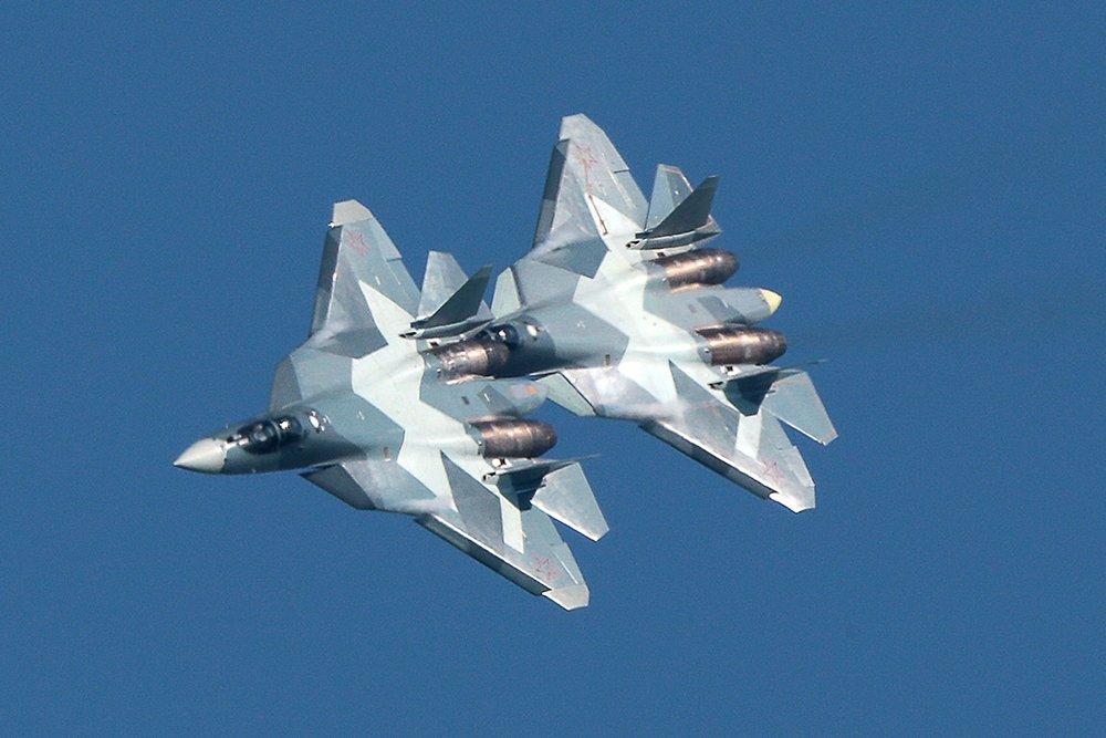 Маневры Су-57