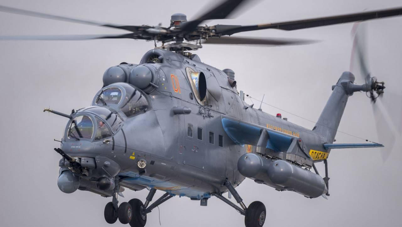"""Ми-35М с """"Витебском"""""""