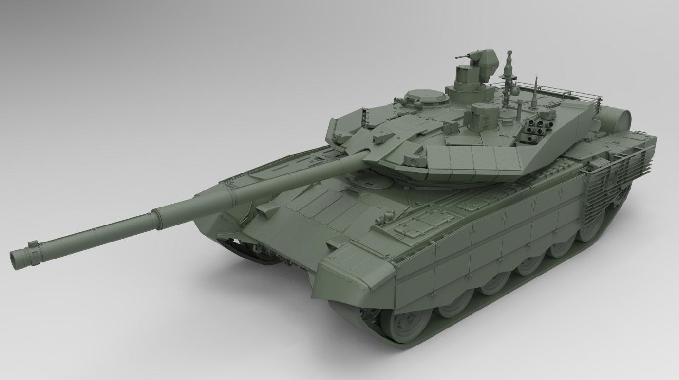 Модель Т-90МС