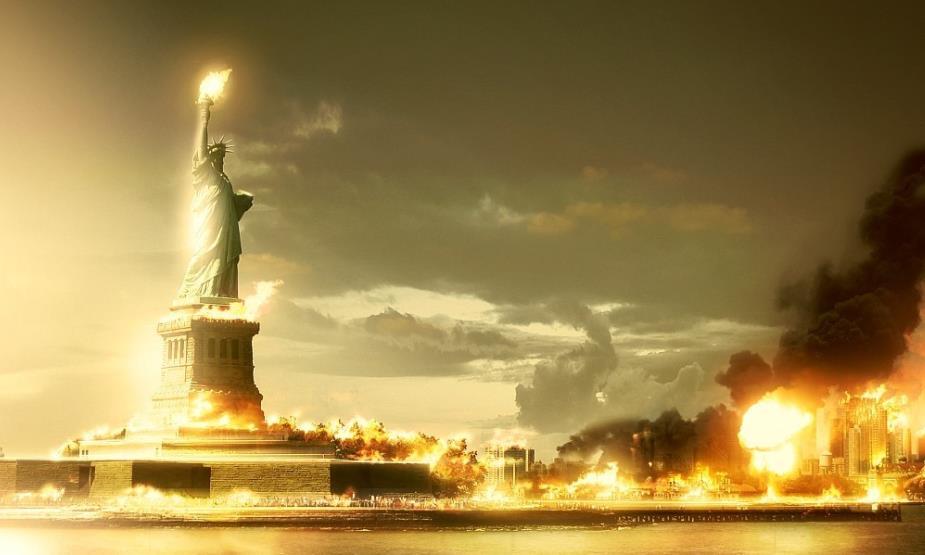 Нью-Йорк в огне