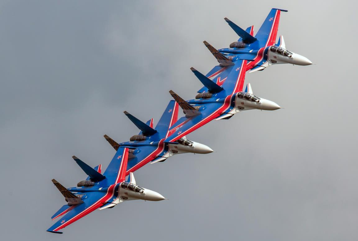 Полет «Русских витязей»