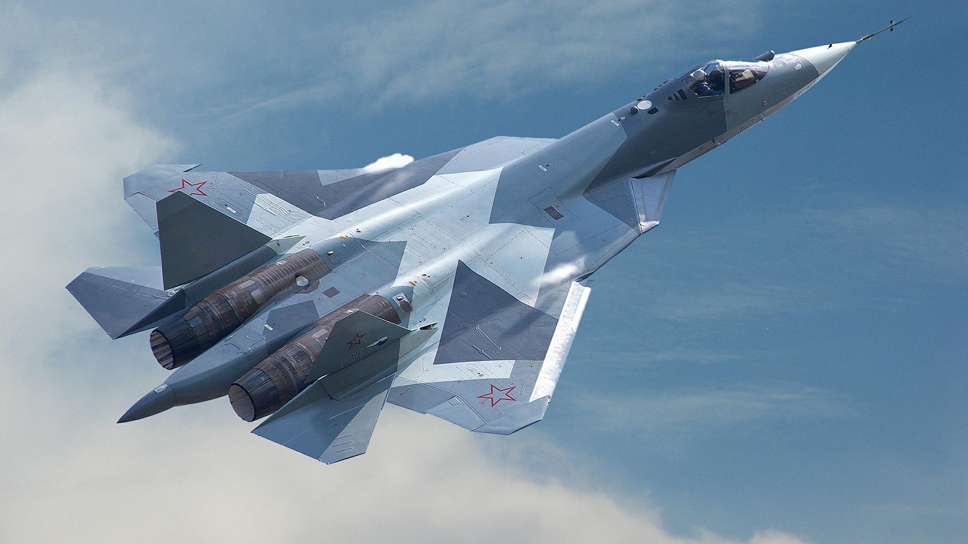 Полет Су-57