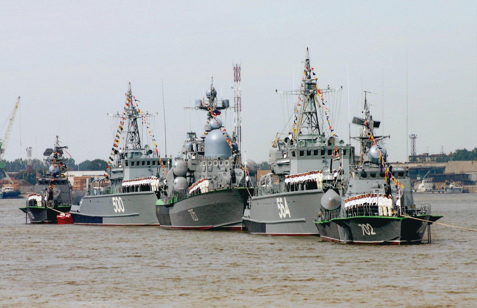 Российские корабли в Сирии