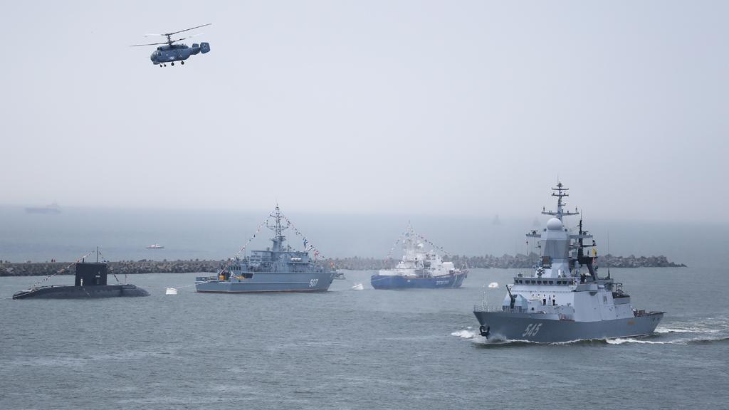 Российский флот в Сирии