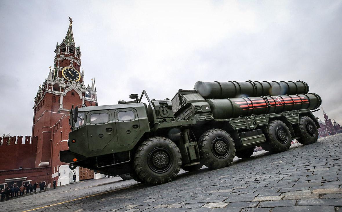С-400 на Красной площади