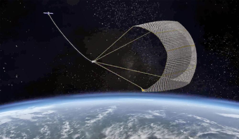 Сеть для очистки орбиты
