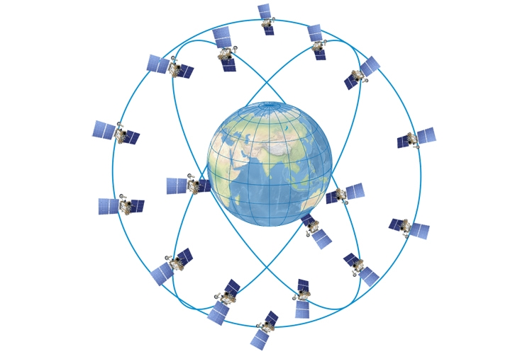 Сеть спутников ГЛОНАСС