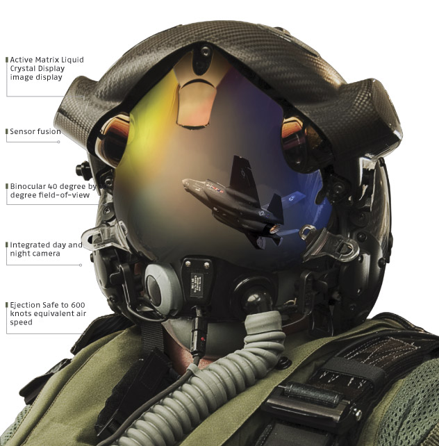 Шлем пилота F-35