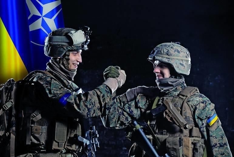 Солдаты НАТО и Украины