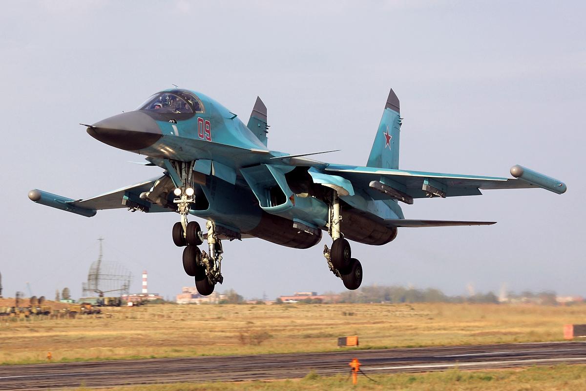 Су-34 с «Хибинами»