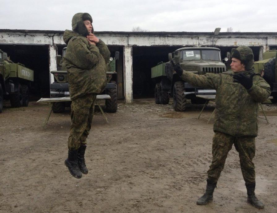 Телекинез в армии РФ