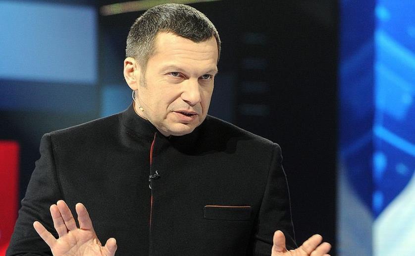 Телеведущий Соловьев
