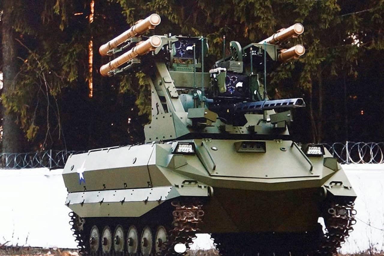 «Уран-9» в боевой готовности