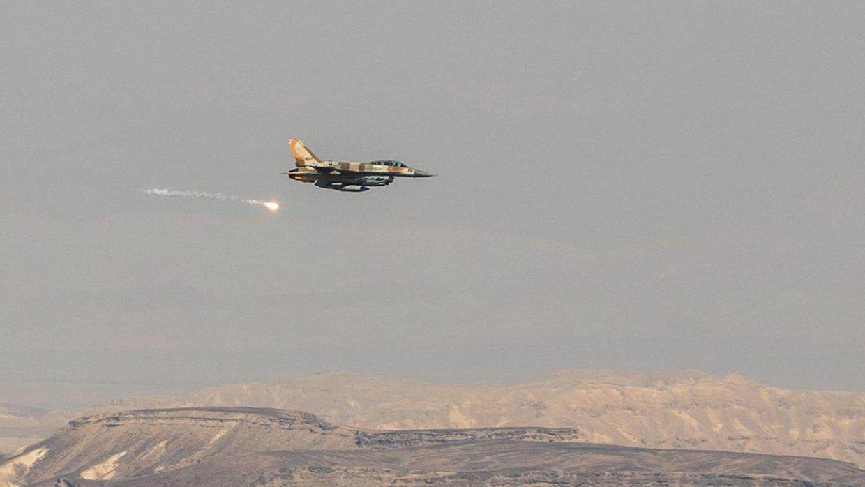 Запуск израильской ракеты