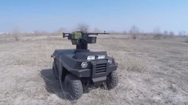 «Беспилотная роботизированная платформа «Ласка 2.0»