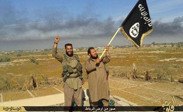 Члены террористической группировки