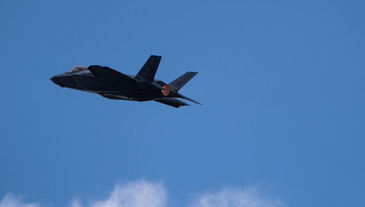 F-35A в небе