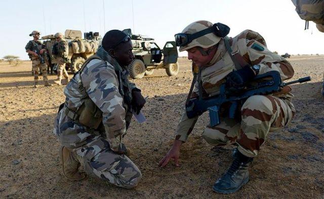 Французский спецназ в Мали