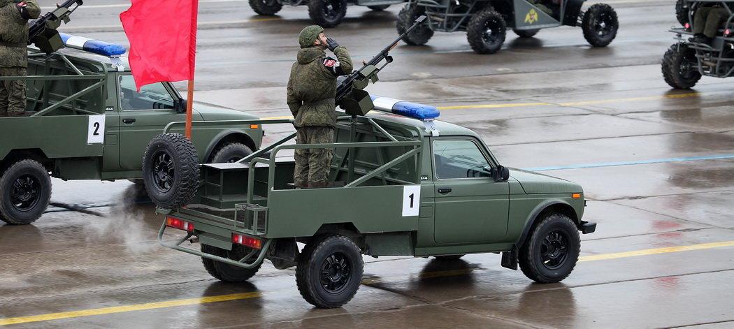 Ган-трак на базе ВАЗ-2121