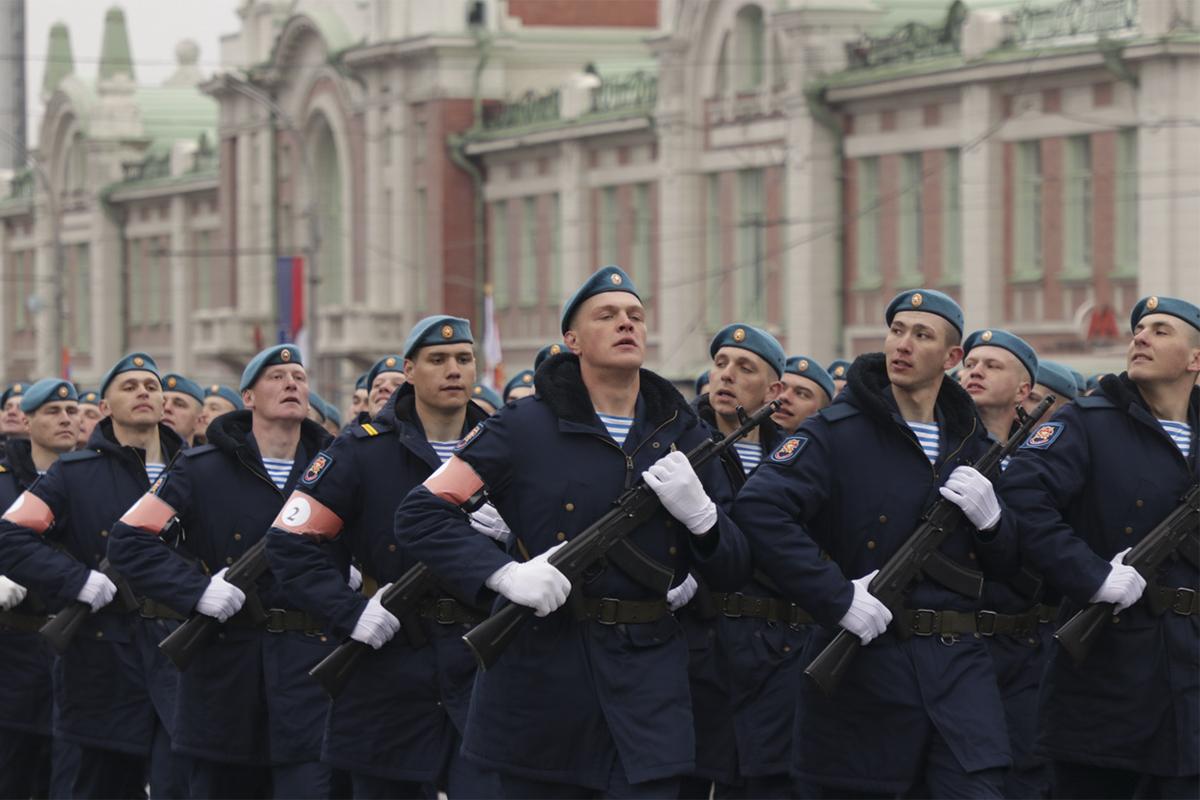 Голубые береты в Новосибирске