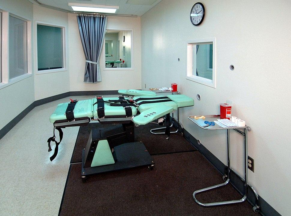 Комната для смертельной инъекции