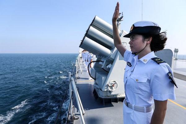 На китайском военном судне