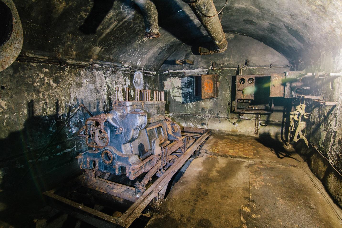 Оборудование в бункере