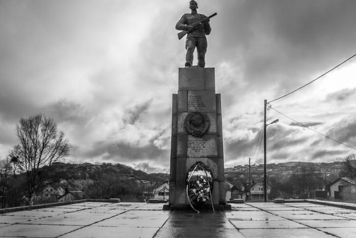 Памятник в Норвегии