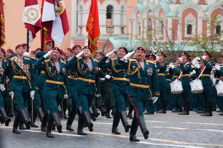 Парад внутренних войск