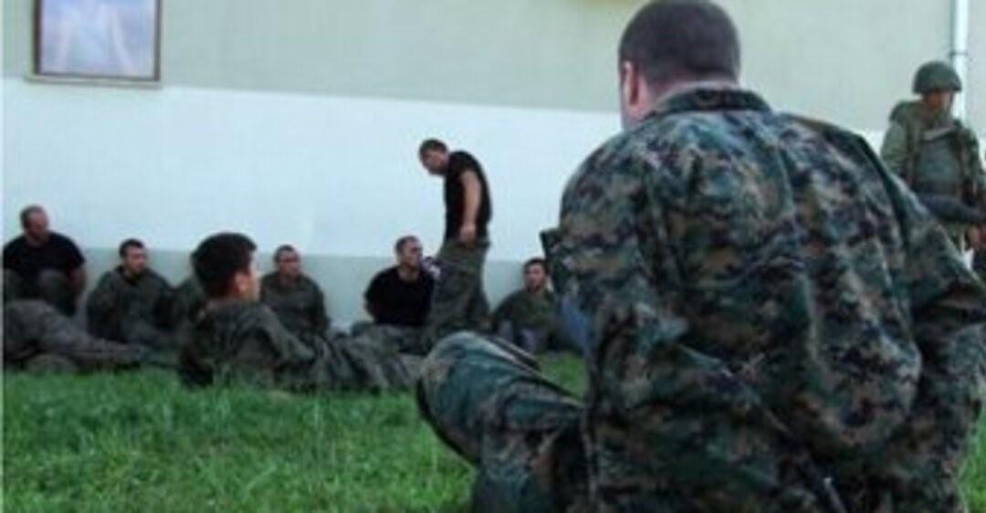 Плененные солдаты ВСУ