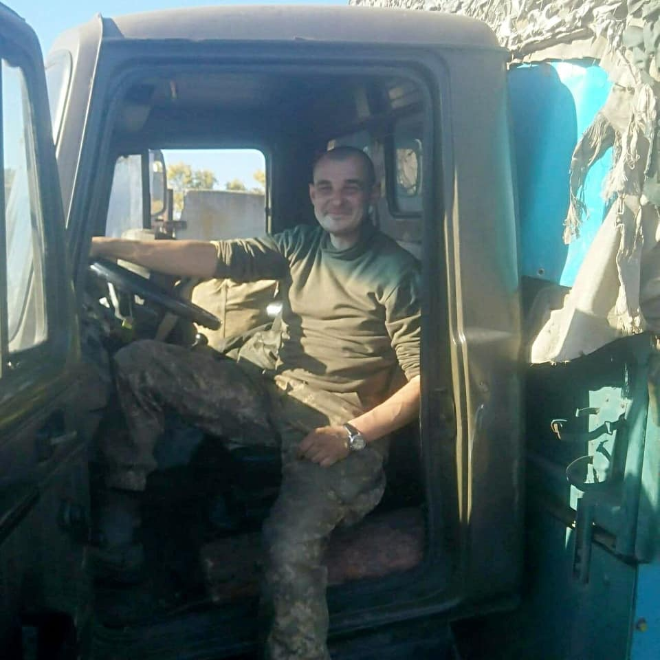 Пленный солдат ВСУ
