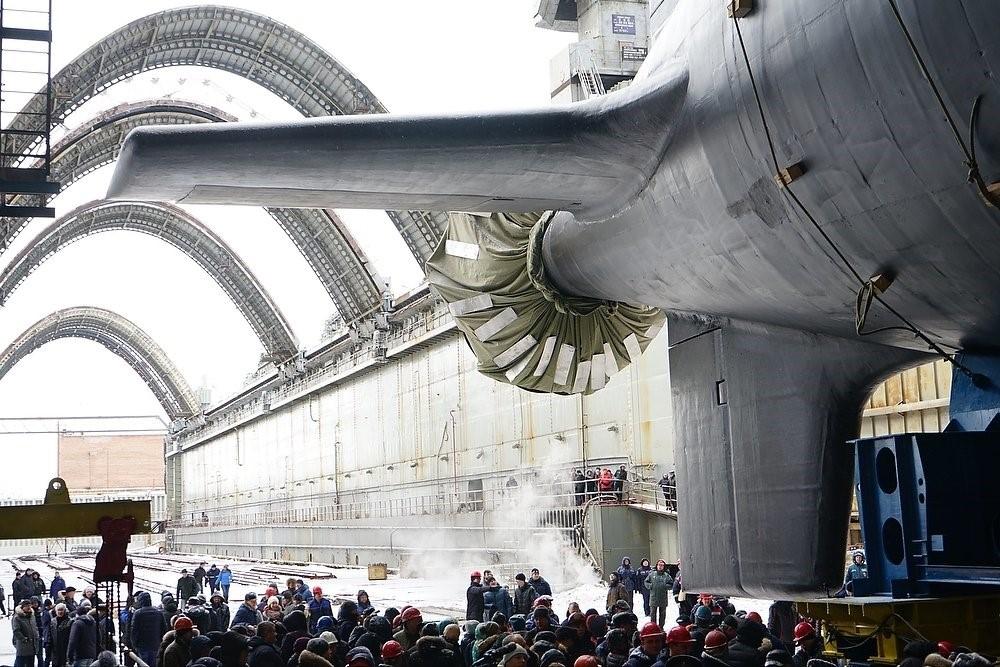 Подводная дока «Казань» в доках