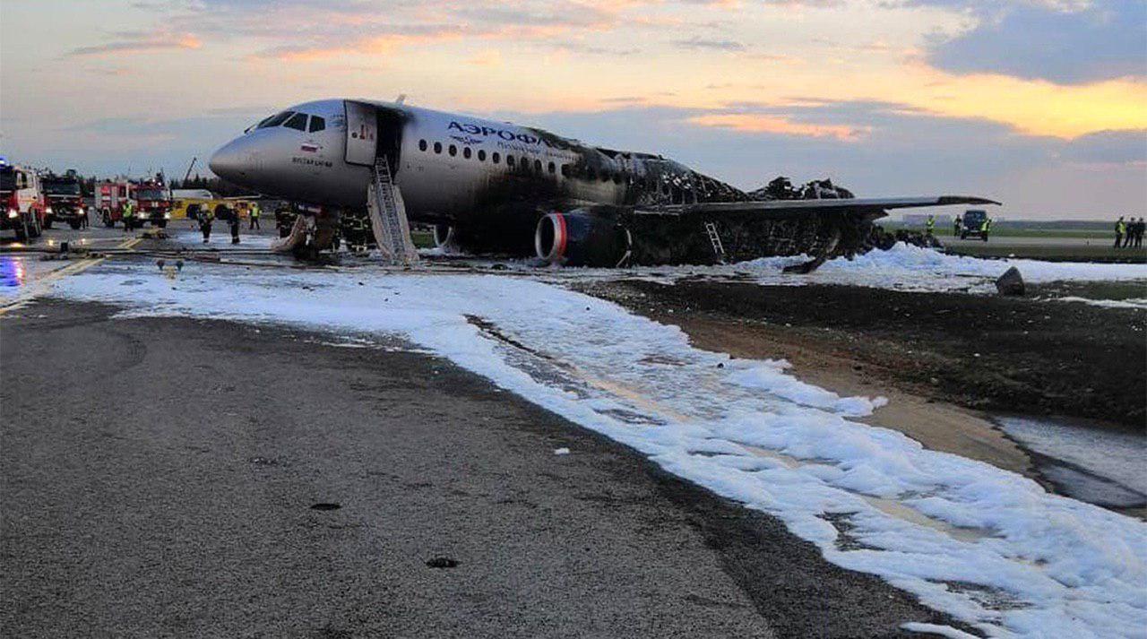 Потерпевший крушение SSJ-100
