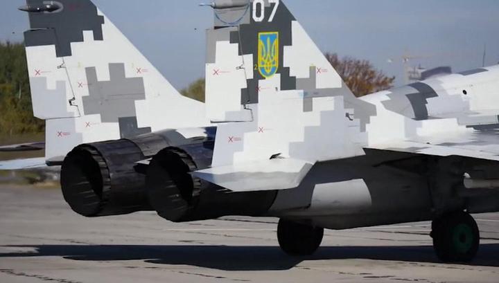 Пришедший в негодность МиГ-29