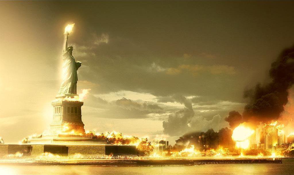 Разрушенный Нью-Йорк