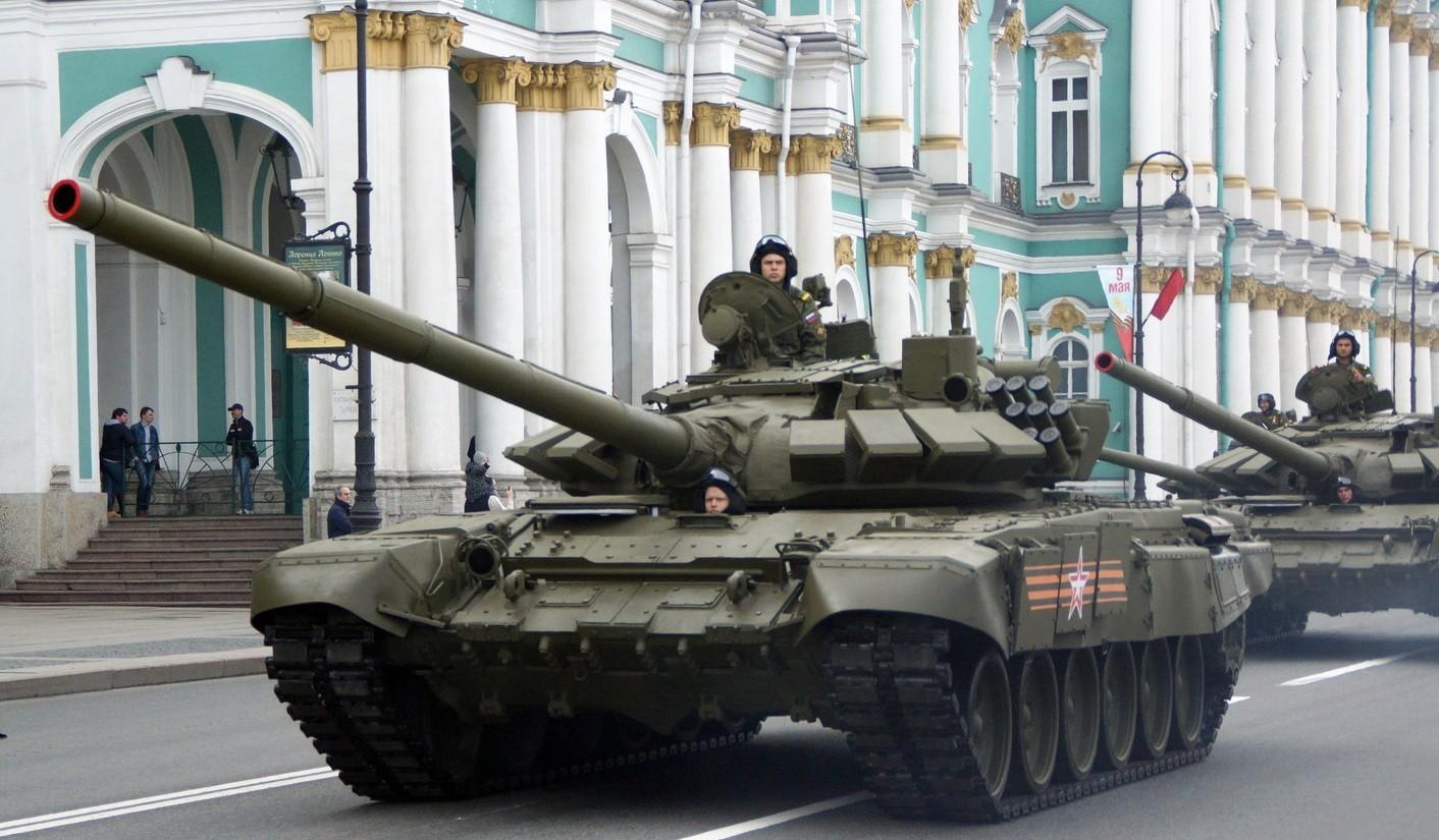 Российские Т-72Б3