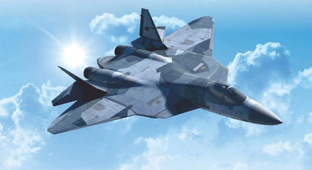 Российский СУ-57
