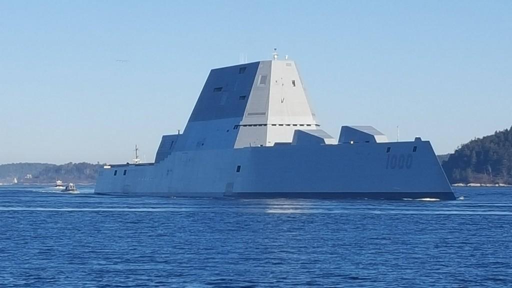Самый дорогой эсминец США