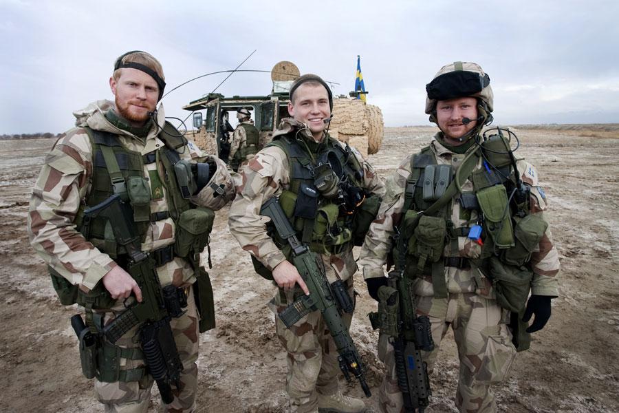 Солдаты Швеции