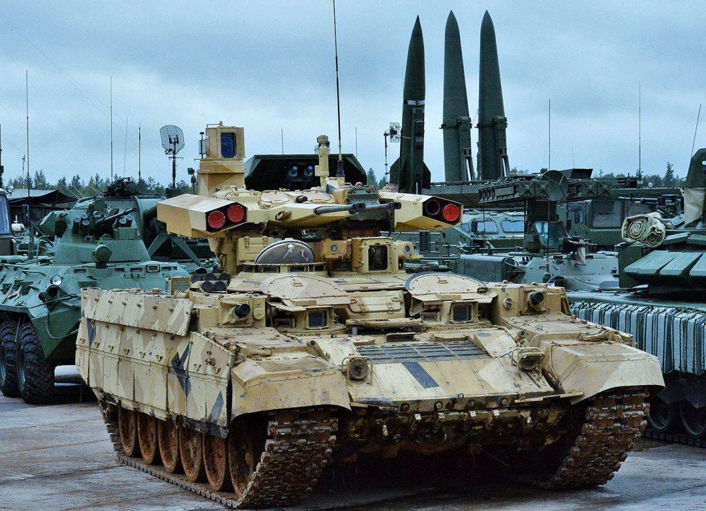 Современные танки ВС РФ