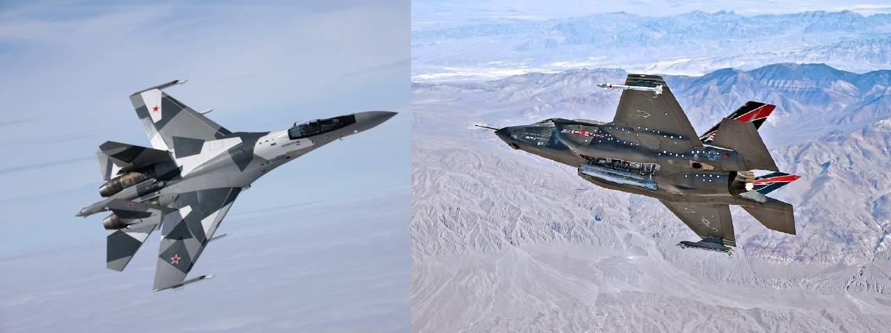 Су-35 и F-35