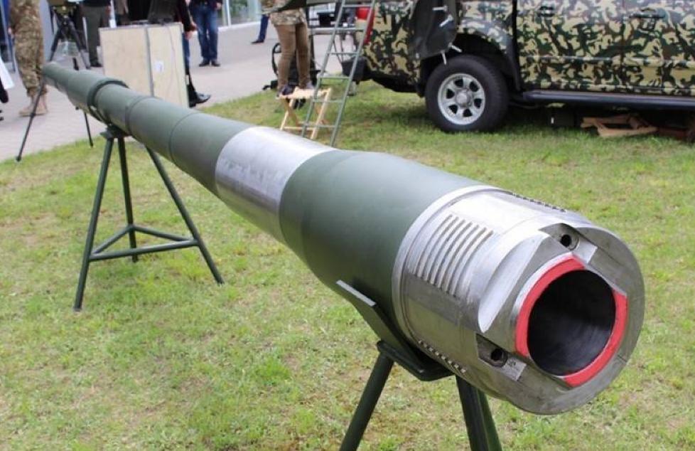 Танковая пушка, изготовленная на Украине